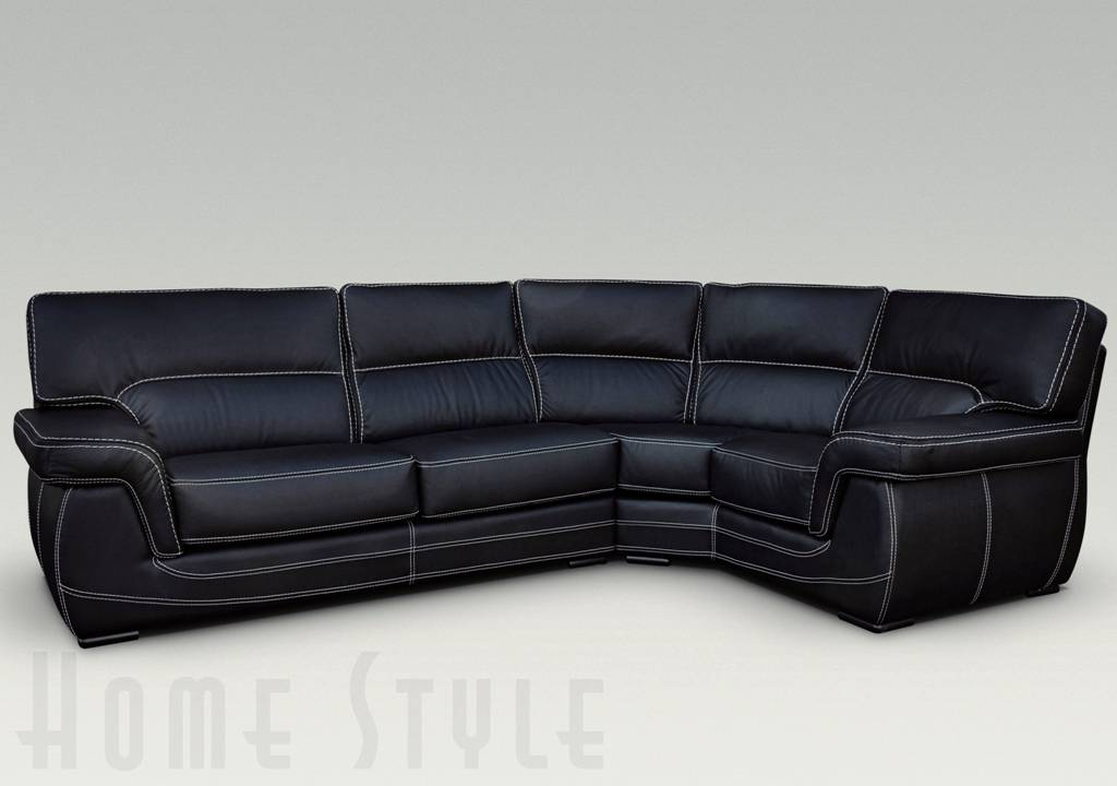 Babylon Leather Corner Sofa