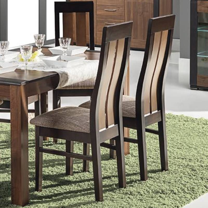 tes walnut extending dining table 6 chairs